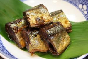 銚子港さんまの佃煮あります